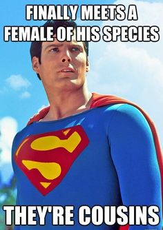 Bad Luck Superman // funny pictures - funny photos - funny images - funny pics - funny quotes - #lol #humor #funnypictures