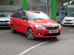 Used 2011 (11 reg) Red Skoda Fabia 1.4 TSI vRS 5dr DSG for sale on RAC Cars
