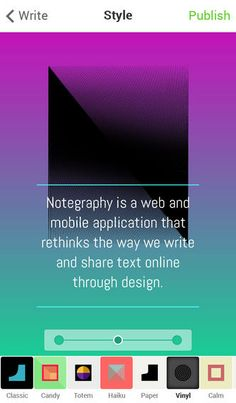 Notegraphy: An App That Turns Text Into Beautiful Typography - DesignTAXI.com