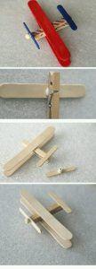 Dondurma Çubuğu ile Uçak Yapımı Resimli Anlatım