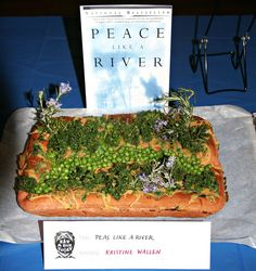 Peas Like a River by Seattle Edible Book Festival - Eat a Book Today!, via Flickr