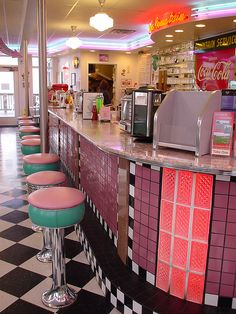 Soda Fountain  This is in Port Townsend, WA. I used to go here a few times as a kid before we'd head over to Fort Worden. I miss it a lot. :c