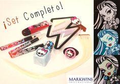 """Kit completo """"Characters de #MonsterHigh"""" de FrankieStein #markwins"""