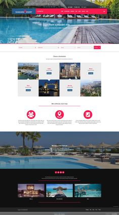 Shakara Resort Theme  This amazing looking website template is for #weebly powered #websites. This theme has all the features needed to build a strong and successful online presence.