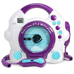 karaoke player Kids Karaoke Machine - CD & Player Sing-A-Long Music Player with 2 Microphones Kids Karaoke Machine - CD & Player Sing-A-Long Music Player wit Karaoke Player, Mp3 Music Player, Kids Karaoke Machine, Disney Karaoke, Musical Toys For Kids, Kids Talent, Karaoke System, Silly Songs, Games For Girls