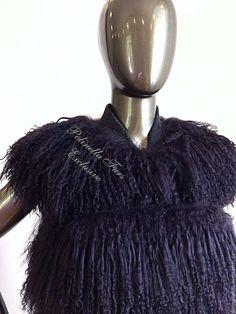 Купить Жилет из ламы - жилет, жилетка, жилетка меховая, жилет длинный, меховой жилет