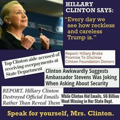 Why hasn't she been drug before a grand jury, to answer and pay for the treason she committed against America?