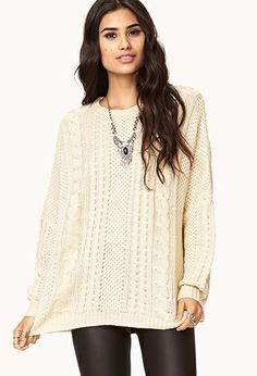 Cable Knit Sweater | FOREVER 21 - 2000128202