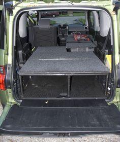 My Pvc Bed Frame Town Amp Country Van Minivan Ideas Van