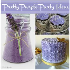 Pretty Purple Party Ideas #purple #party