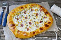 Cum se face aluatul fraged pentru tarte sarate? - CAIETUL CU RETETE Hawaiian Pizza, Cheese, Food, Pie, Essen, Meals, Yemek, Eten