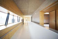 ABC Studio et Christian Vincent – Extension d'un gymnase – Vagney (Vosges)