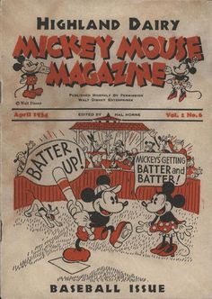 Cover for Mickey Mouse Magazine [Second Series] (Disney, 1933 series) #v1#6