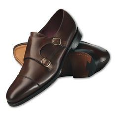 Yet another brown double monk strap shoe