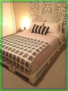 bedroom floor mattress  #bedroom #floor #mattress Please Click Link To Find More Reference,,, ENJOY!! Pallet Bed Frames, Wood Pallet Beds, Diy Pallet Bed, Diy Bed Frame, Pallet Furniture, Bedroom Furniture, Beds On Pallets, Furniture Design, Diy Flooring