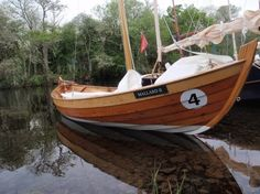 Arctic Tern, of Iain Oughtred design, built in 2012 by Viking Boats of Ullapool, UK