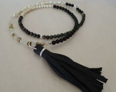 Your Shop - Items Tassel Necklace, Stone, Handmade, Etsy, Shopping, Jewelry, Fashion, Jewellery Making, Moda