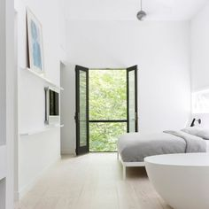 Red Dirt Rd House is a beautiful dwelling with simplicity, located in New York, United States, designed by Amee Allsop.