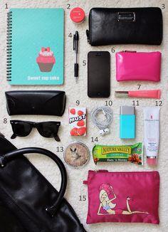 Scorttarius Style - Fashion Blog - בלוג אופנה: What's in my bag?