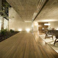 """Chimney House by Marcio Kogan | Follow @InteriorDose for more! | #architecturedose ________ Location: #SaoPaulo, #Brazil © Reinaldo Coser + Gabriel…""  Systematic aesthetics"