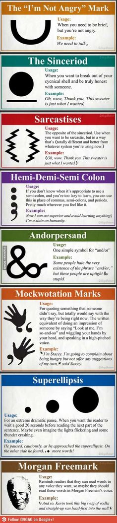 Some new punctuation