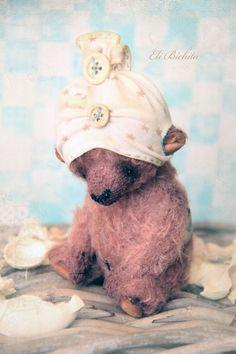 Исполнитель плюшевый мишка OOAK старинные мохер ручной от elibichita