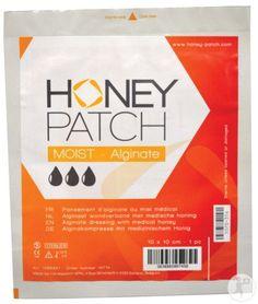 Honeypatch Moist-Alginate Pansement D'Alginate Avec Miel Antibactérien 10x10cm Pièce 1 (1058921) Alginate, Nursing, Patches, Honey, Pharmacy, Breast Feeding, Nurses