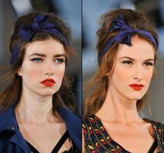 Accessori per capelli con fiocchi di stoffa