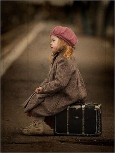 Where is this little girl going? #writing - daily prompt