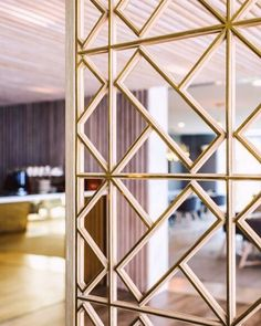 51 Ideas For Metal Screen Wall Patterns Screen Design, Window Grill Design, Door Design, Wall Design, House Design, Divider Design, Divider Ideas, Entrance Design, Metal Room Divider
