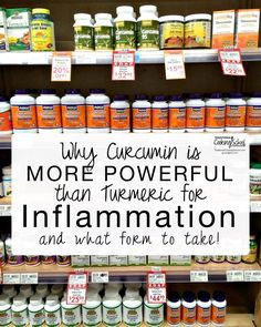 Why Curcumin Is More Powerful Than Turmeric For Inflammation {and what form to take!} | With the intriguing exaltation of turmeric during the last few years -- and recently, the mention of curcumin, the agent found within turmeric that purportedly suppresses and inhibits inflammation -- I've been determined to dig deeper. The powerful heroic component in turmeric is curcumin, and here's what I unearthed. | TraditionalCookingSchool.com