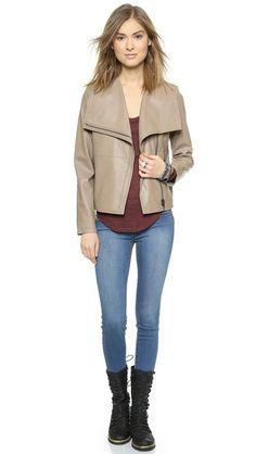 BB Dakota Keaton Leather Jacket