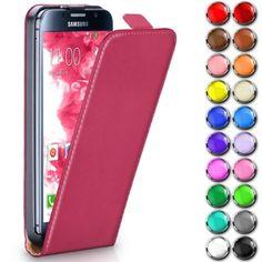 Handy-Tasche-fuer-Samsung-Galaxy-Flip-Case-Schutz-Huelle-Cover-Schale-Klapp-Etui