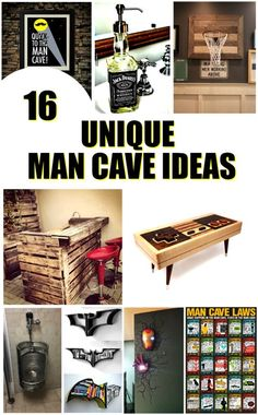 16 Unique man cave ideas you will love