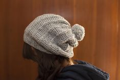 Ravelry: Belugah Slouch Hat and Beanie pattern by Kelly McClure