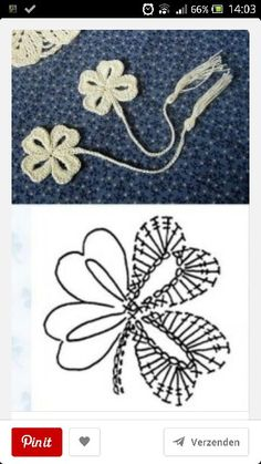 4 leaf clover crochet