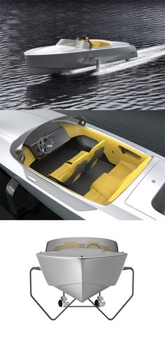 The new 'Edorado 7S' is unlike any other electric boat that sails the waters today, it combines the best of luxury and clean performance... READ MORE at Yanko Design !