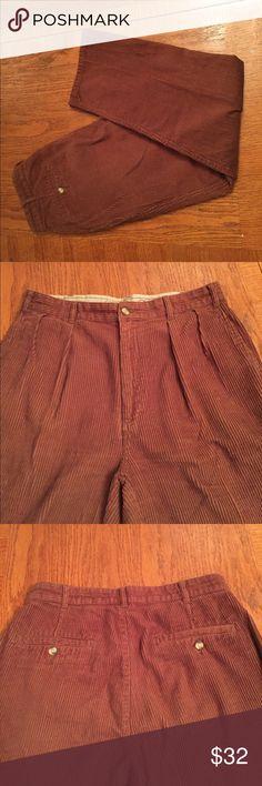 🔥BROOKS BROTHERS🔥MENS BROWN CORDUROY PANTS Perfect condition. Brooks Brothers Corduroy brown pants. Men's size 33W X 30L Brooks Brothers Pants Corduroy