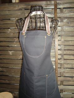 Hey, I found this really awesome Etsy listing at https://www.etsy.com/listing/268866428/waxed-black-canvas-apron-shop-apron