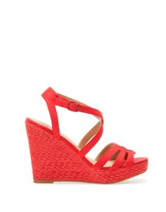 £ 29.99 CROSSOVER STRAP JUTE WEDGES Wedge: 10,7 cm. 4,21 in.