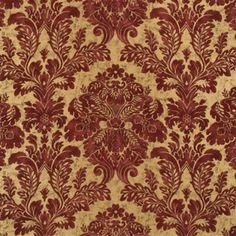 Memorable damask terracotta/gold fabric by Mulberry Home. Item FD255.M104.0. Free shipping on Mulberry Home. Always first quality. Search thousands of patterns. Swatches available. Width 53.978 inches.