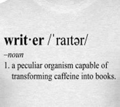 Writer + Caffeine = Books
