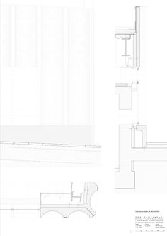 Nottingham Contemporary by Caruso St John Architecture Drawings, Contemporary Architecture, Architecture Details, Caruso St John, Helene Binet, Nottingham Contemporary, Detailed Drawings, Floor Plans, Architects