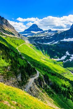 Where: Glacier National Park, MontanaWhy We Love It: Views like this are what make this rugged corner of wilderness one of America's most scenic places (plus it's less crowded than Yosemite and the Grand Canyon!).
