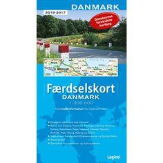 Færdselskort Danmark 2016/17