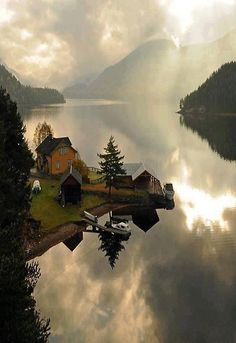 #Telemark, Norway - I could wake up to that every morning.