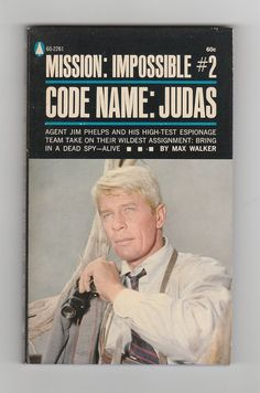 Peter Graves In Mission Impossible Drama Series, Book Series, Mission Impossible Tv Series, Peter Graves, Code Names, Actor James, Vintage Television, Comedy Films, Classic Tv
