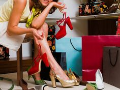 Shoe Personality Quiz - Best Shoe Style for You - Seventeen. I gor fun and flirty.