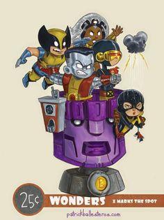 Fan Art of the Week: Classic X-Men by Patrick Ballesteros | COMICS ...