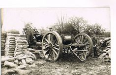 WWI-Photo-No-233-artillery-big-mortar-trench